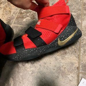 Nike Shoes - Nike Le Bron custom ID sneakers